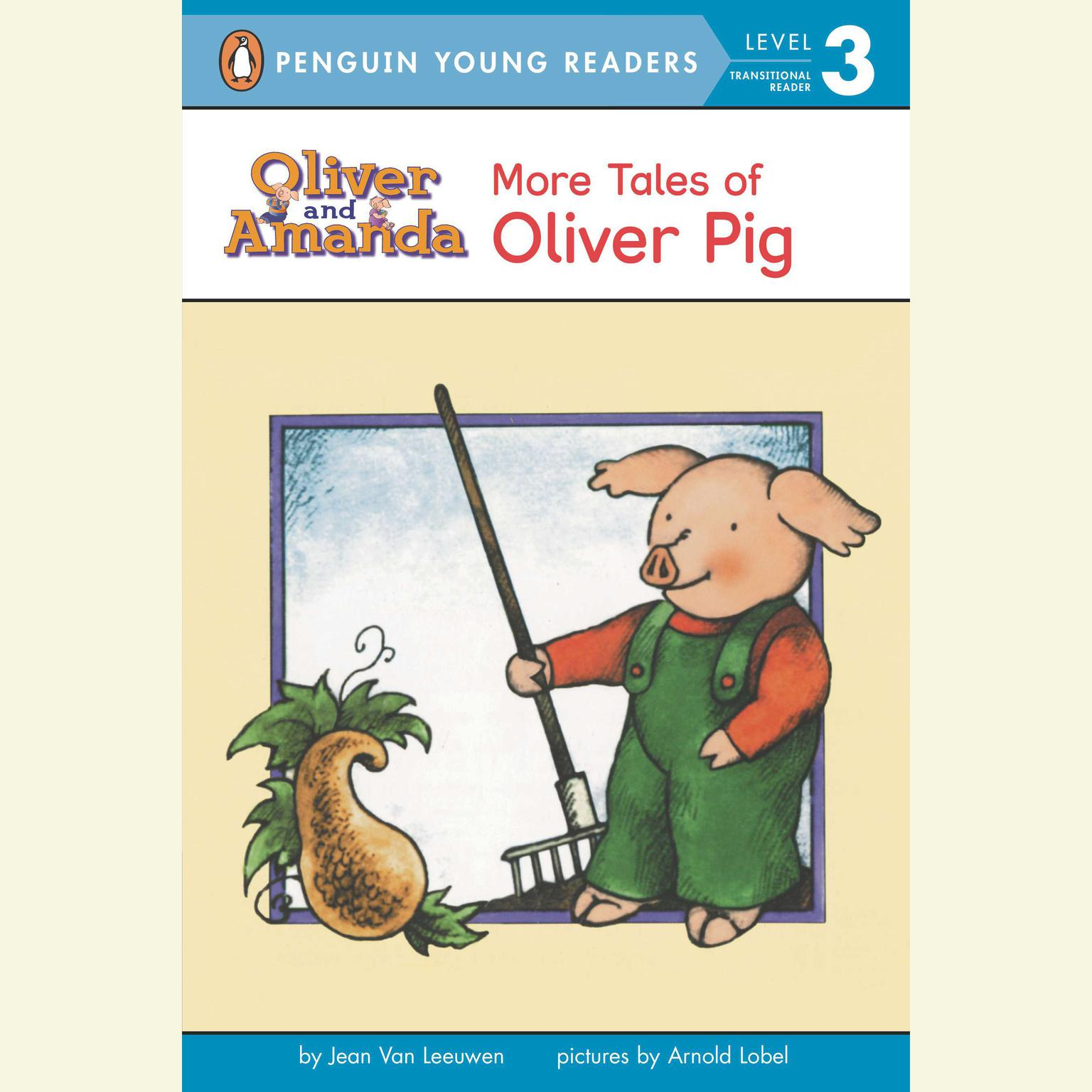 Printable Tales of Oliver Pig Audiobook Cover Art