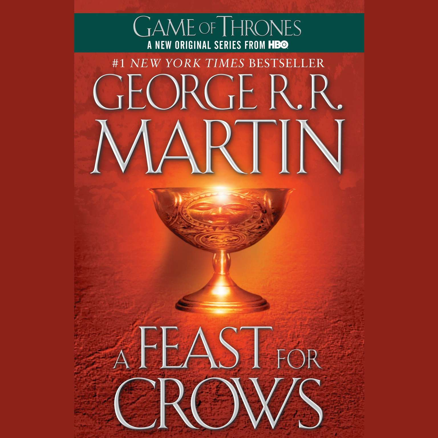 Printable A Feast for Crows: A Song of Ice and Fire: Book Four Audiobook Cover Art