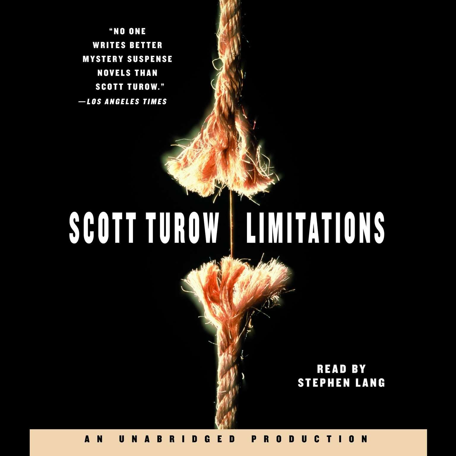 Printable Limitations Audiobook Cover Art