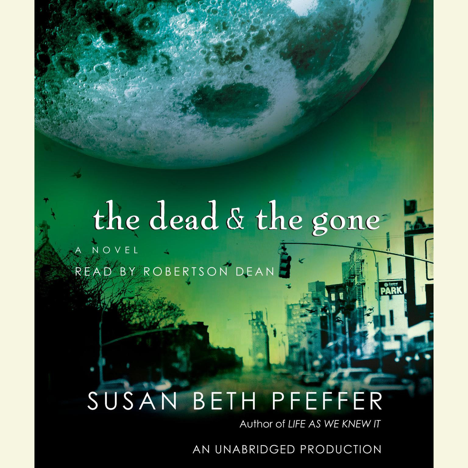 Printable The Dead and the Gone Audiobook Cover Art
