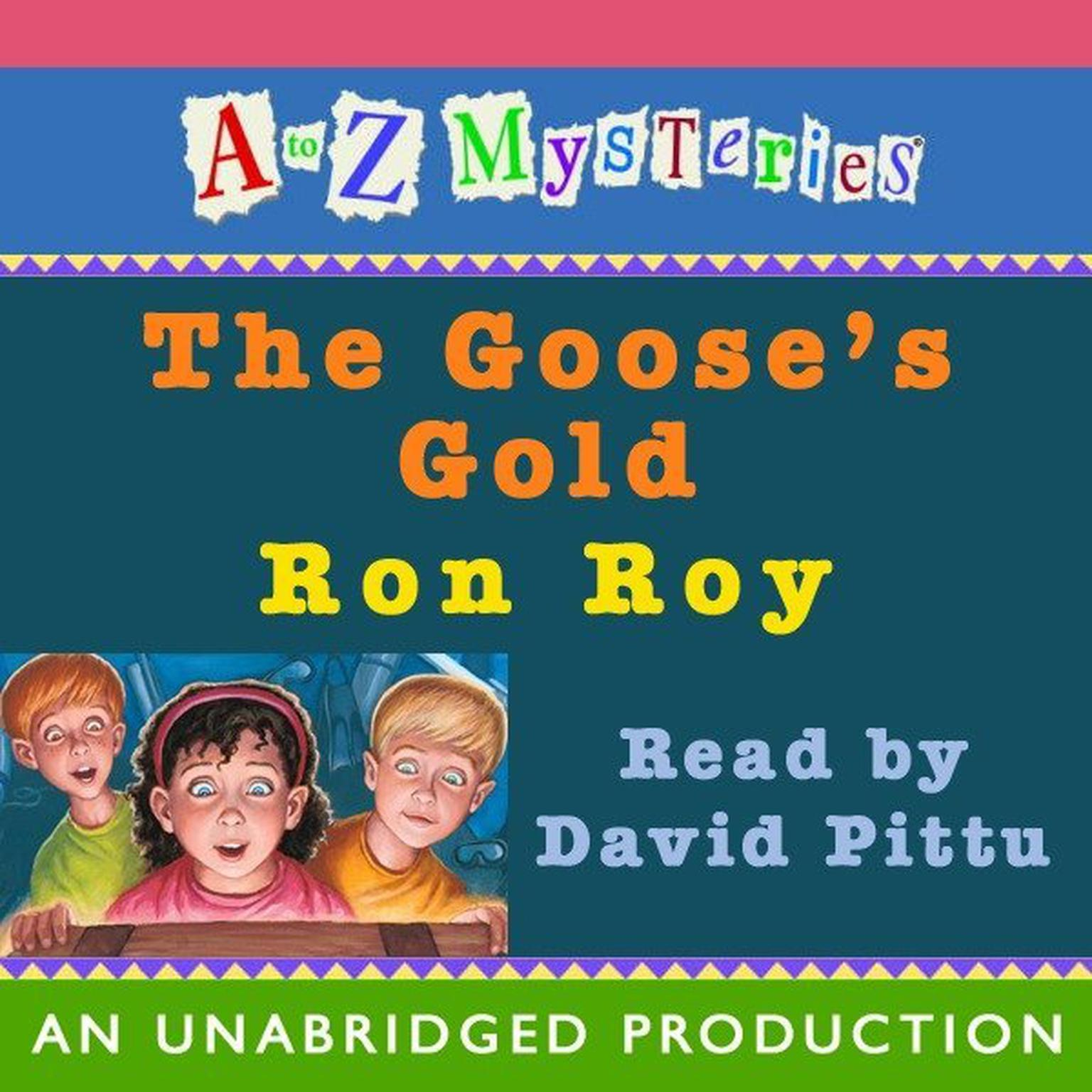 Printable A to Z Mysteries: The Goose's Gold Audiobook Cover Art
