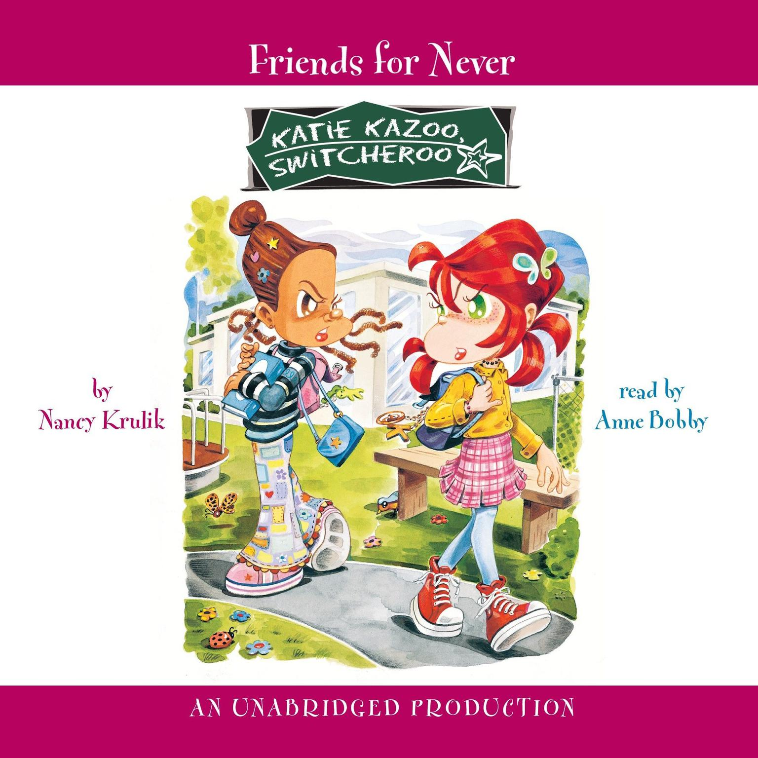 Printable Katie Kazoo, Switcheroo #14: Friends for Never Audiobook Cover Art