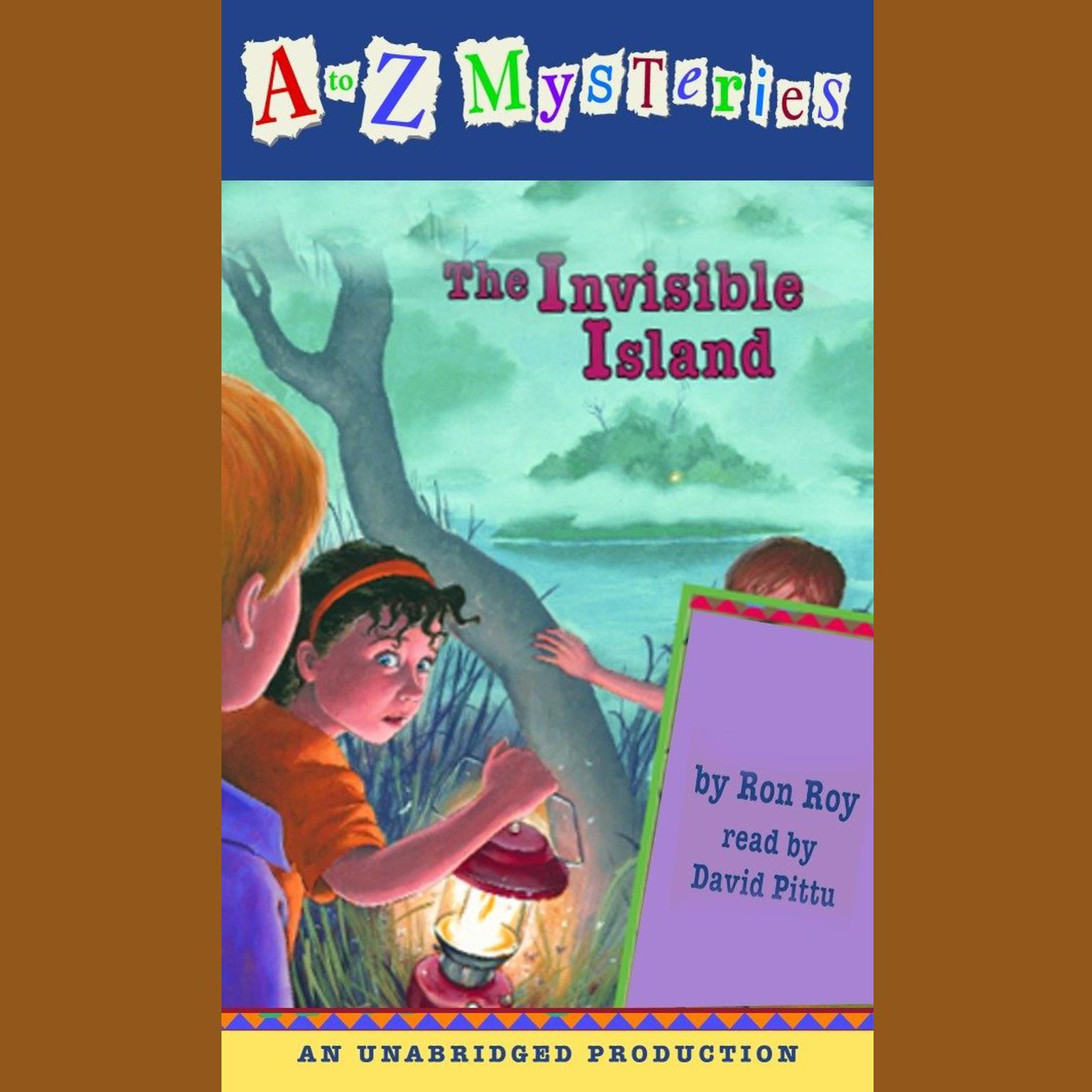 Printable The Invisible Island Audiobook Cover Art