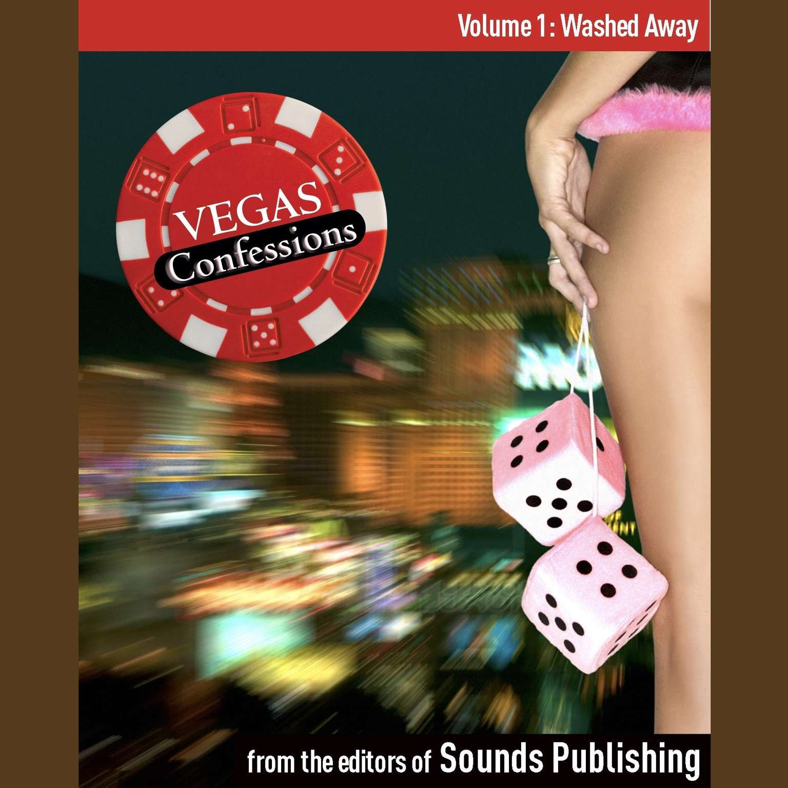 Printable Vegas Confessions 1: Washed Away Audiobook Cover Art