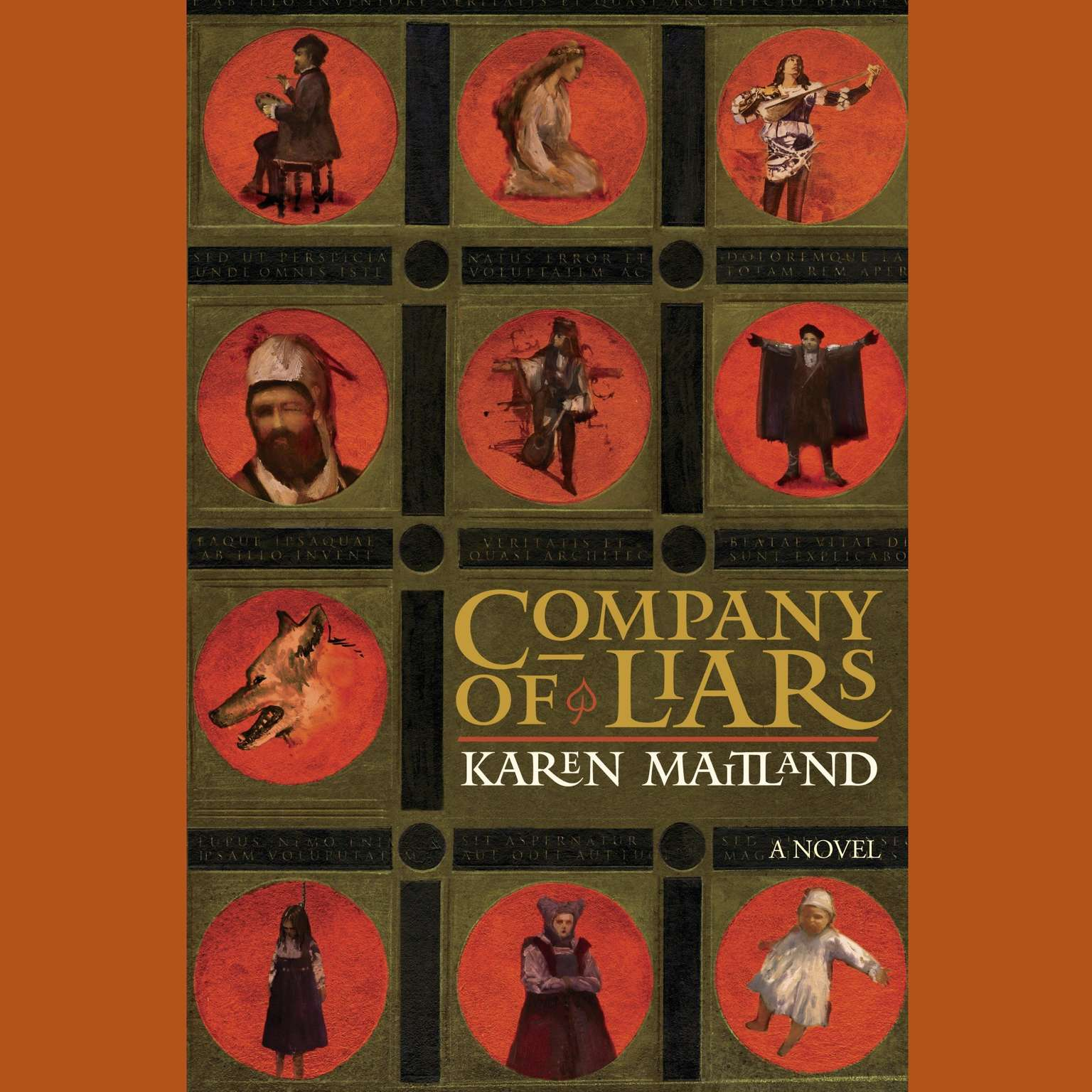 Printable Company of Liars: A Novel Audiobook Cover Art