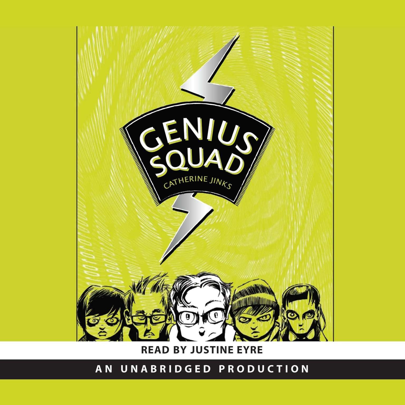 Printable Genius Squad Audiobook Cover Art