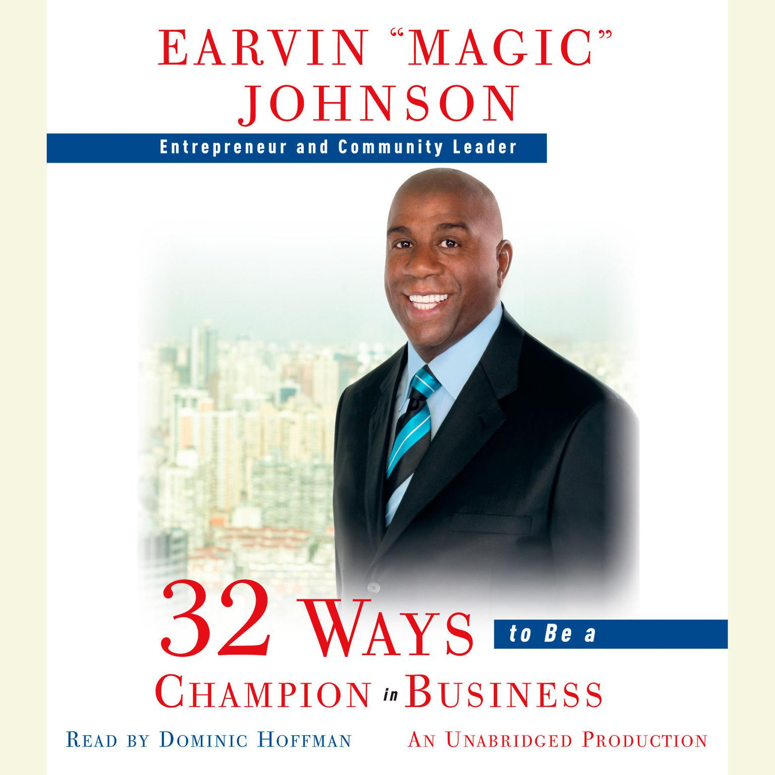 Printable 32 Ways to Be a Champion in Business Audiobook Cover Art