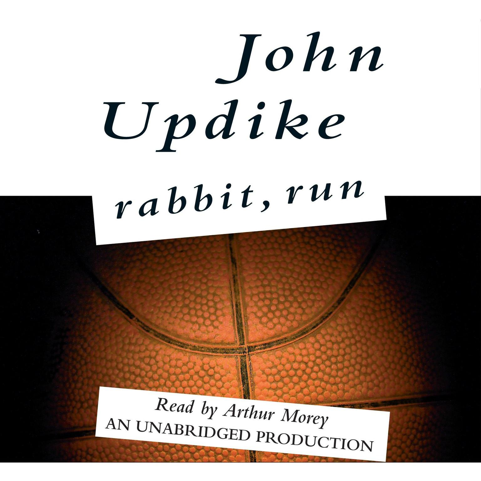 Printable Rabbit, Run Audiobook Cover Art