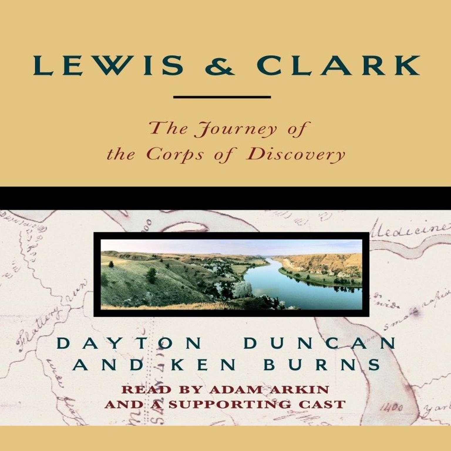 Printable Lewis & Clark: The Journey of the Corps of Discovery Audiobook Cover Art