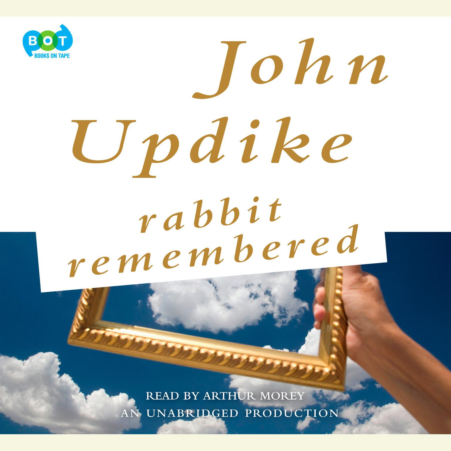 Printable Rabbit Remembered Audiobook Cover Art