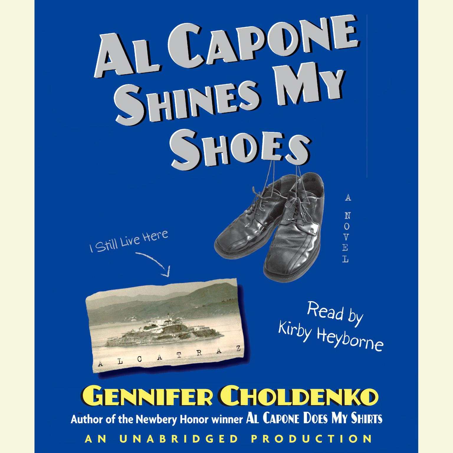 Printable Al Capone Shines My Shoes Audiobook Cover Art