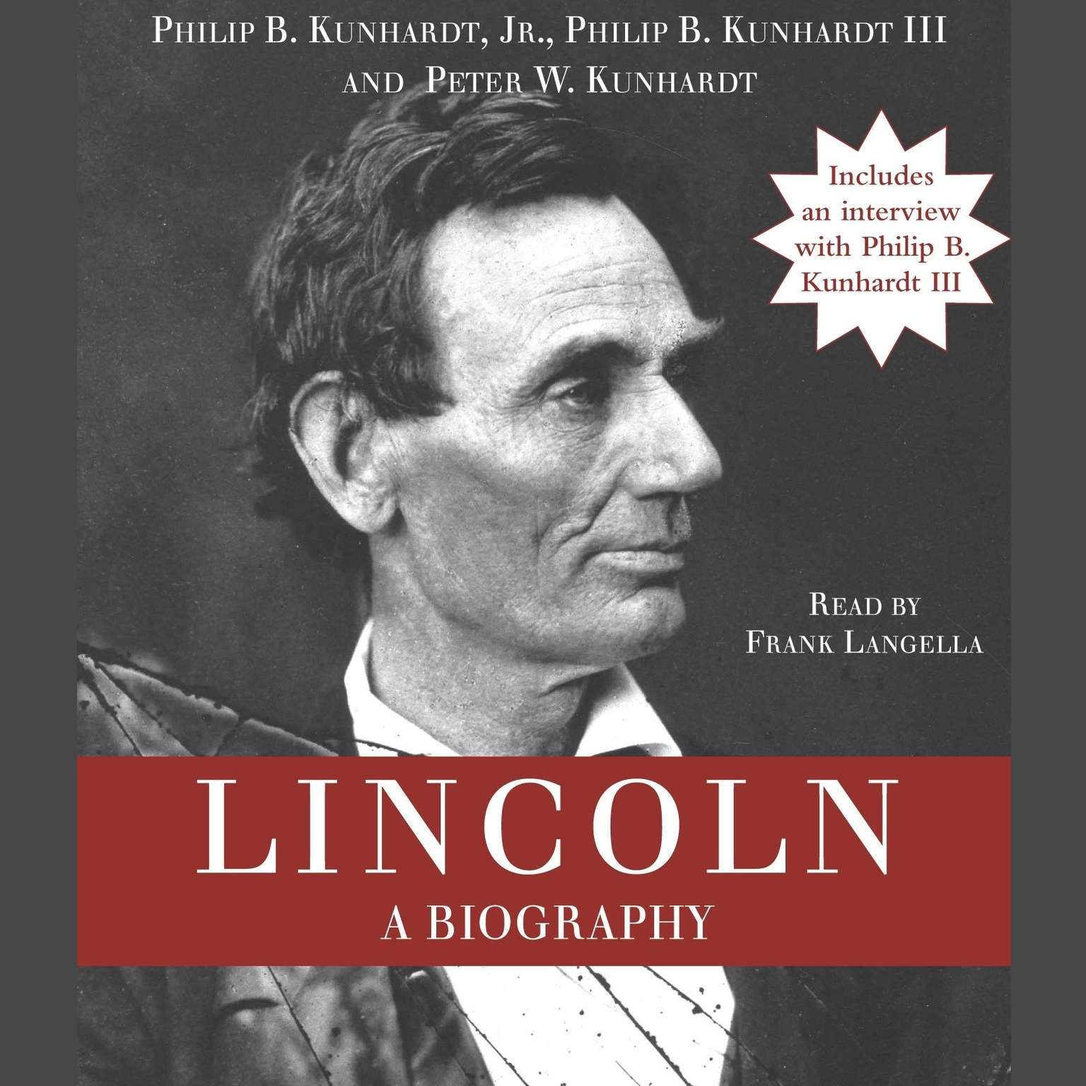 Printable Lincoln: A Biography Audiobook Cover Art
