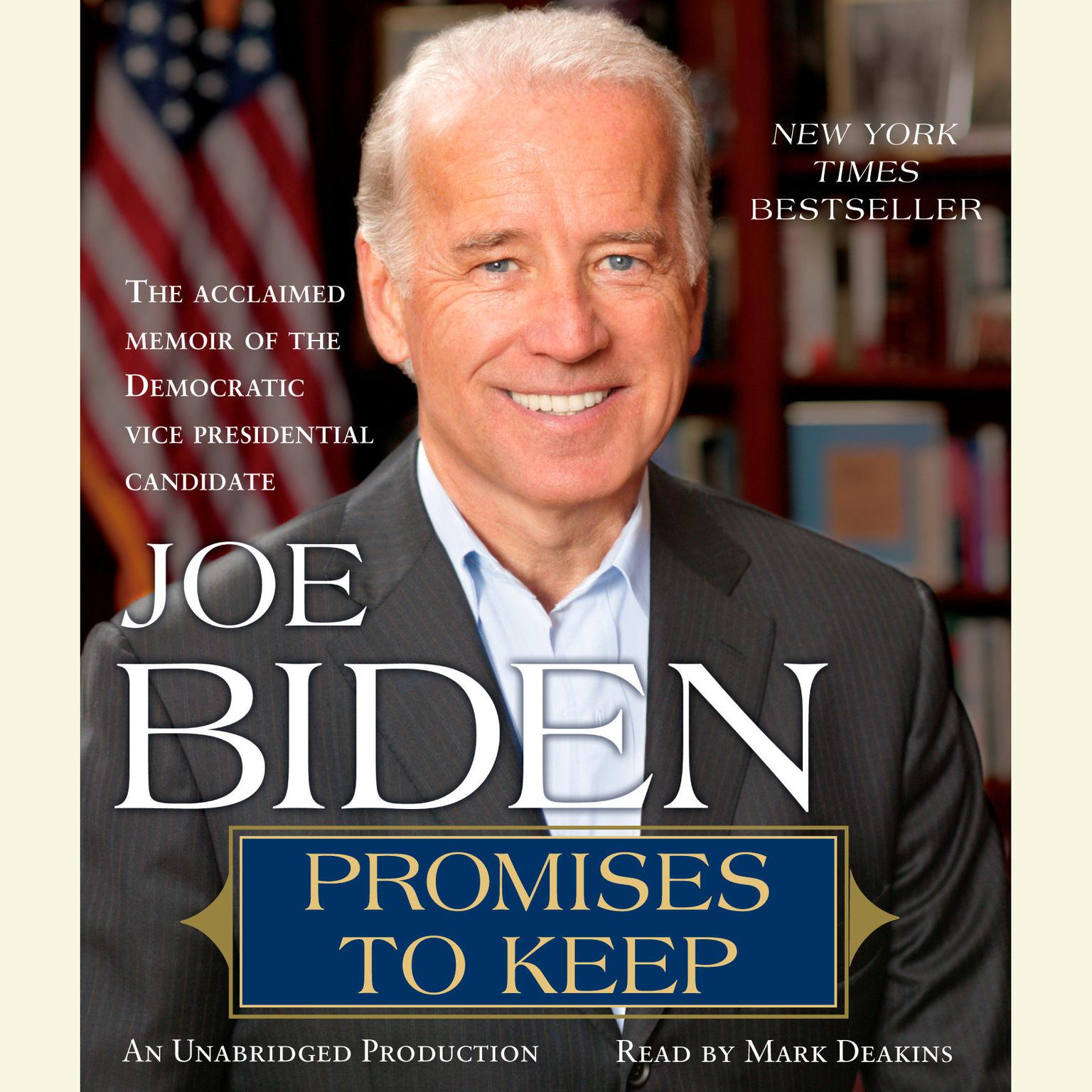 Printable Promises to Keep: On Life and Politics Audiobook Cover Art