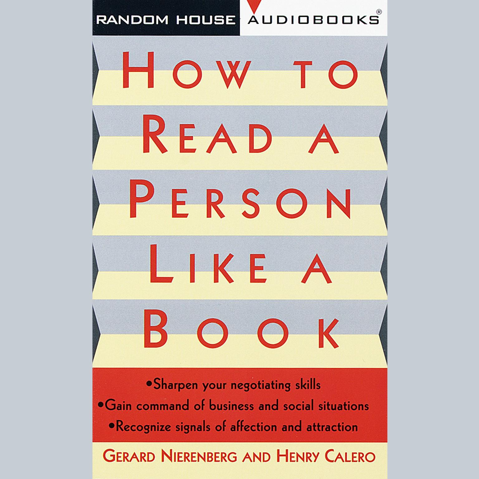 Printable How to Read a Person Like a Book Audiobook Cover Art