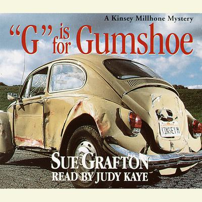 G Is for Gumshoe Audiobook, by Sue Grafton