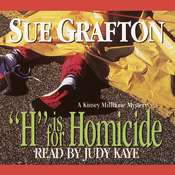 H Is for Homicide, by Sue Grafton