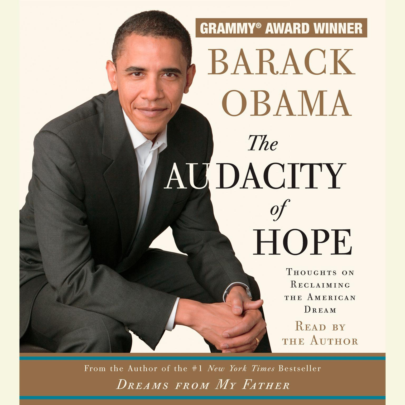 Printable The Audacity of Hope: Thoughts on Reclaiming the American Dream Audiobook Cover Art
