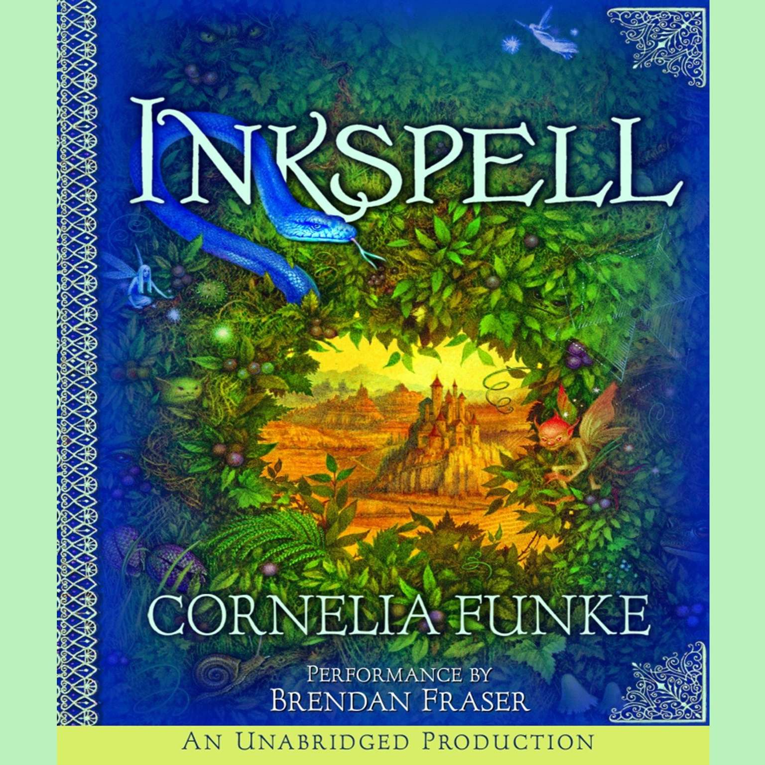 Printable Inkspell Audiobook Cover Art