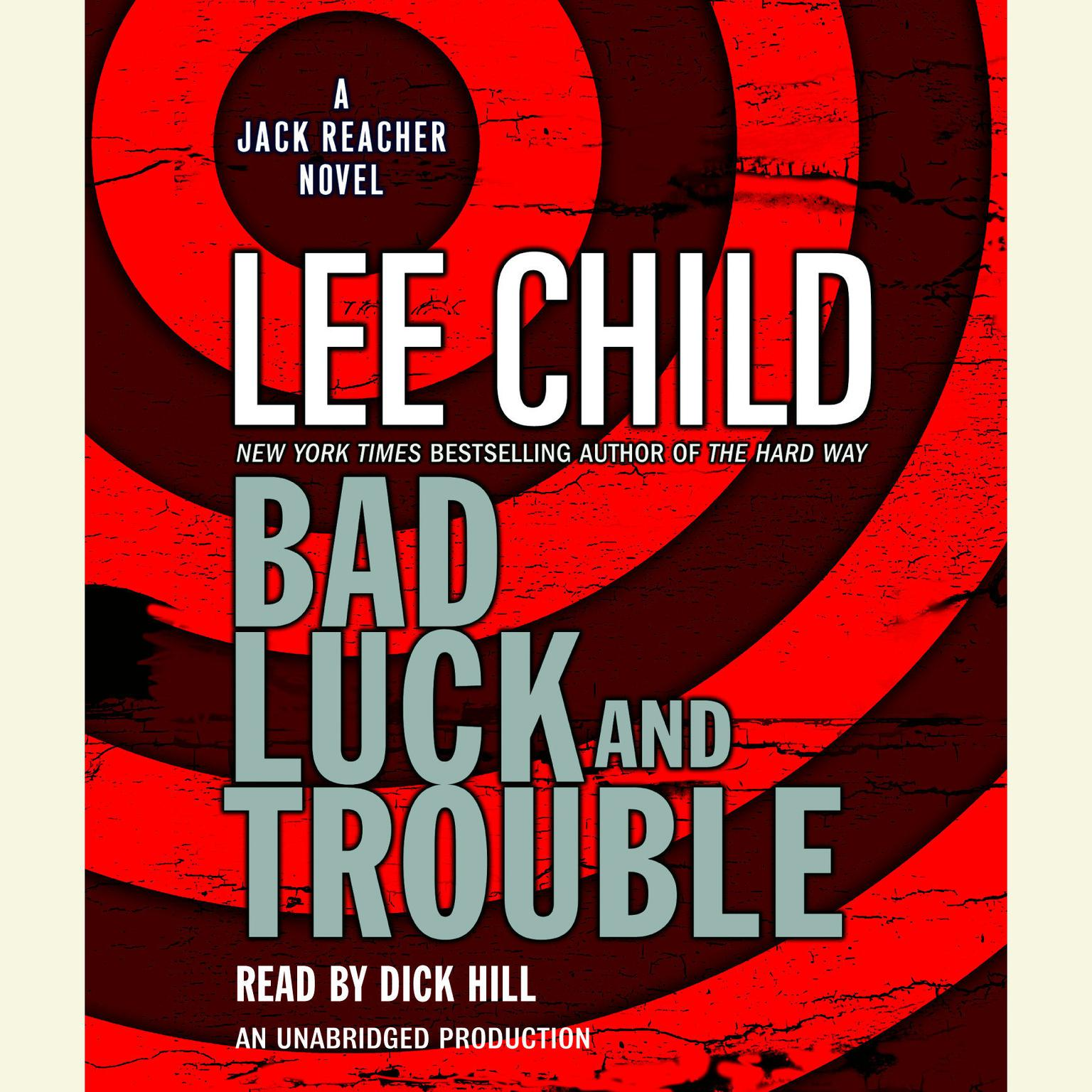 Printable Bad Luck and Trouble: A Jack Reacher Novel Audiobook Cover Art