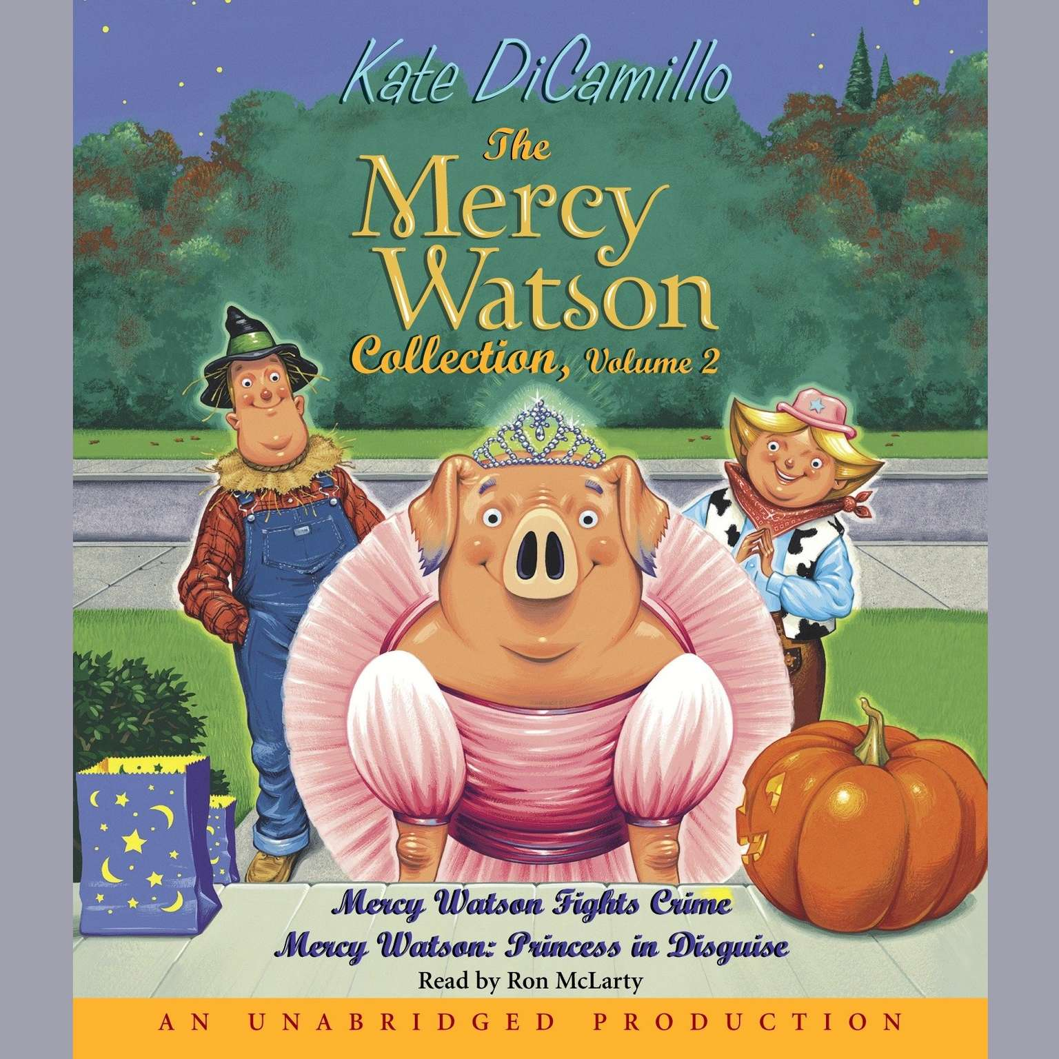 Printable Mercy Watson #3: Mercy Watson Fights Crime Audiobook Cover Art