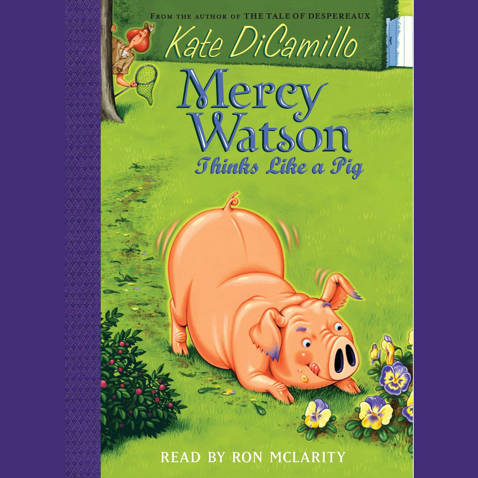 Printable Mercy Watson Thinks Like a Pig Audiobook Cover Art
