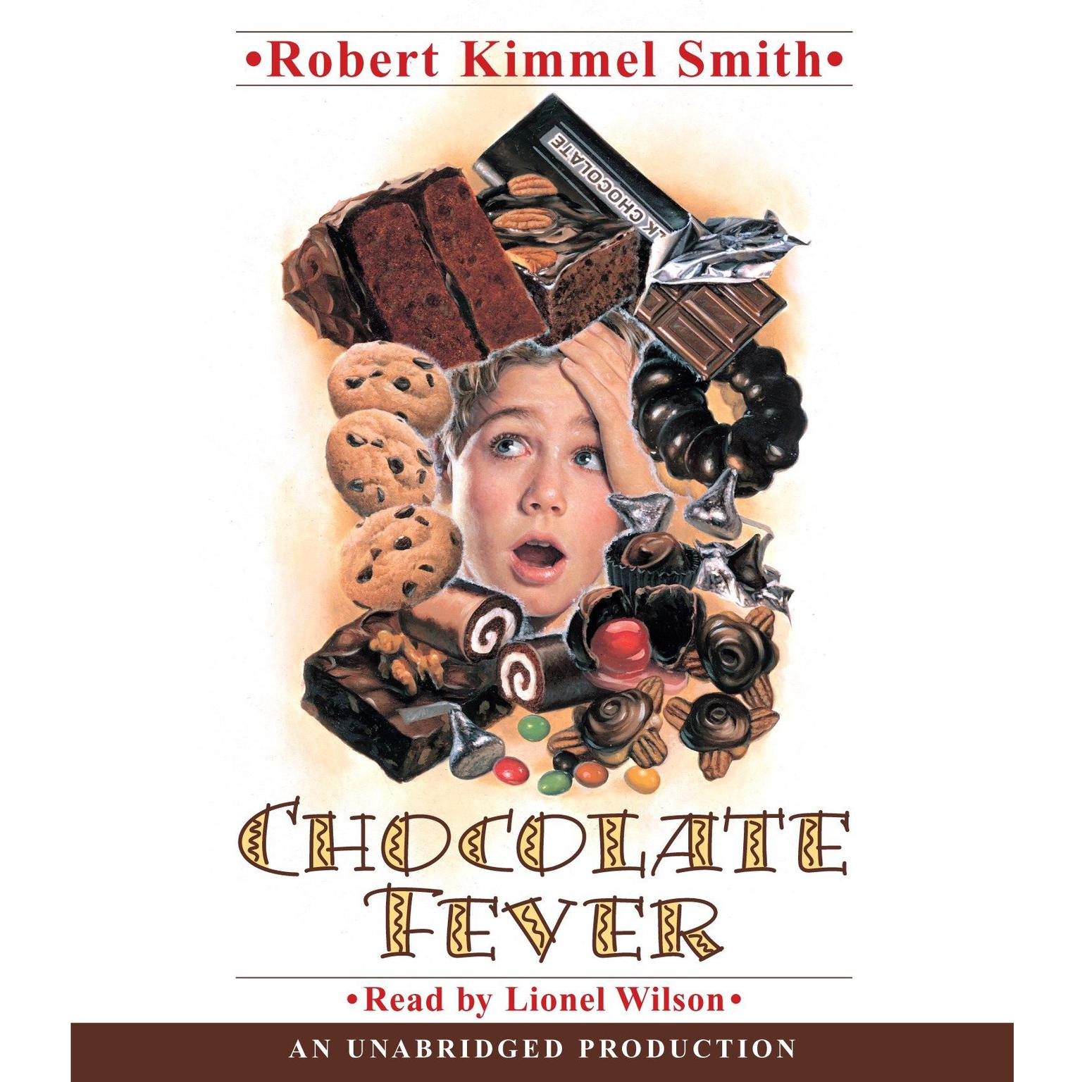 Printable Chocolate Fever Audiobook Cover Art