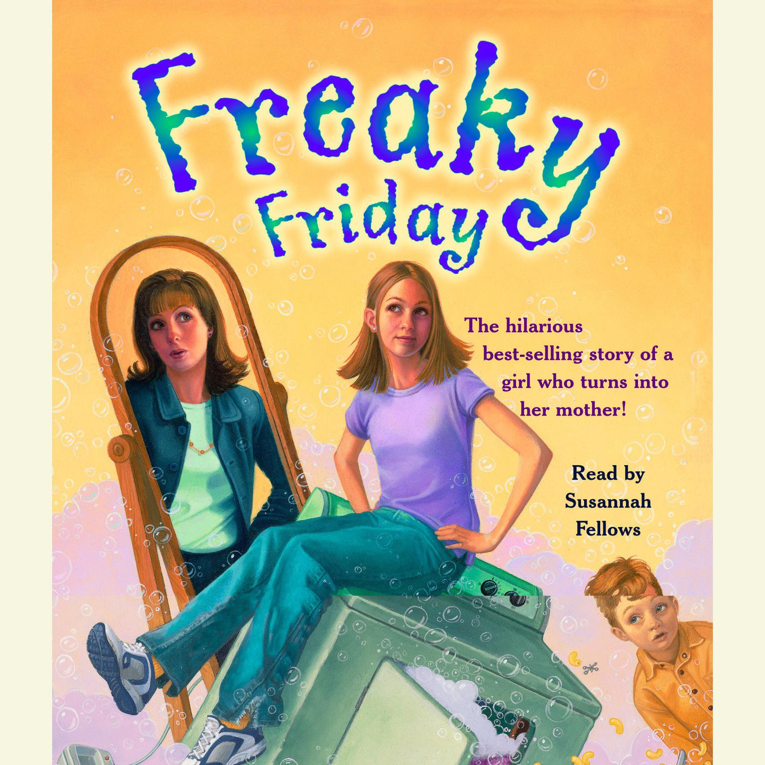 Printable Freaky Friday Audiobook Cover Art