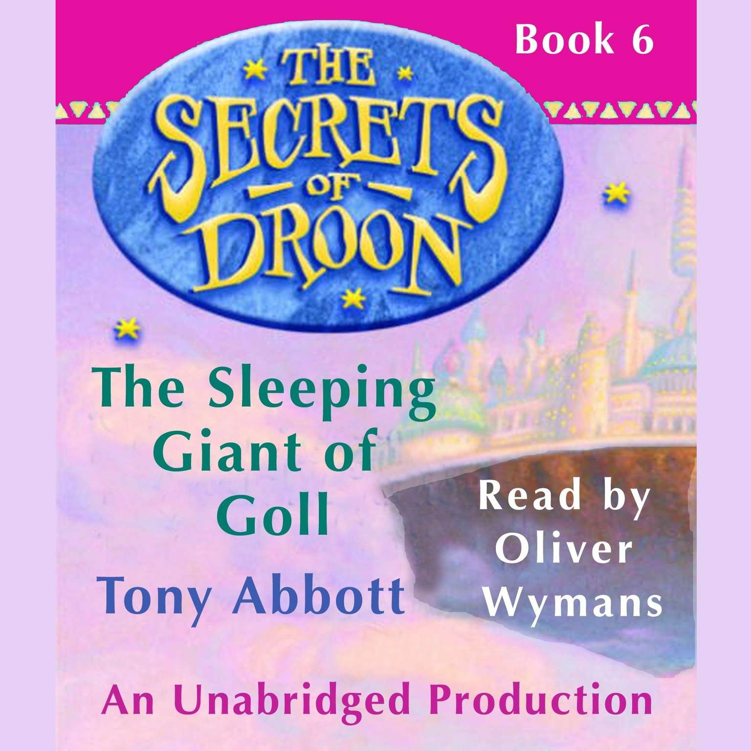 Printable The Secrets of Droon #6: The Sleeping Giant of Goll Audiobook Cover Art