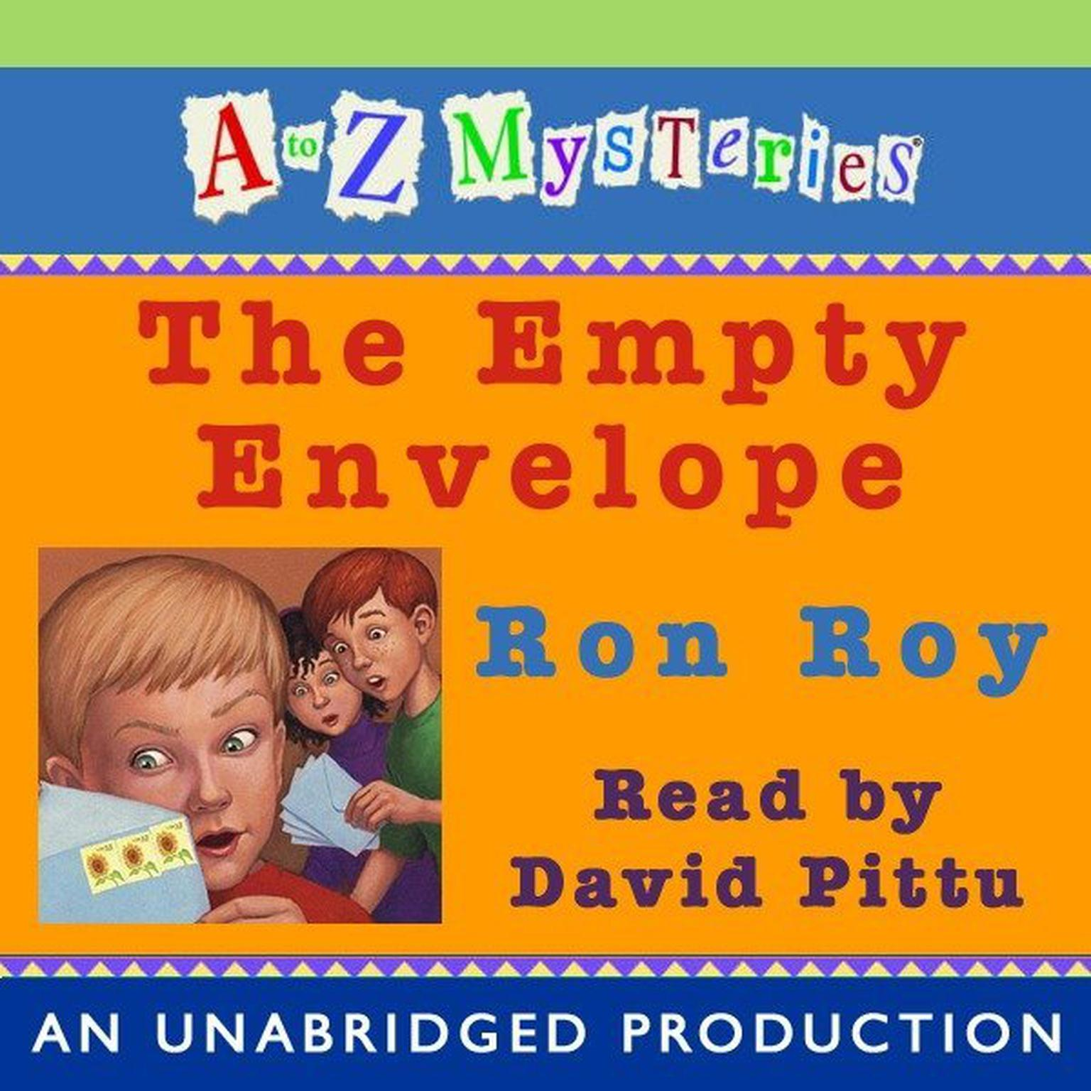 Printable A to Z Mysteries: The Empty Envelope Audiobook Cover Art