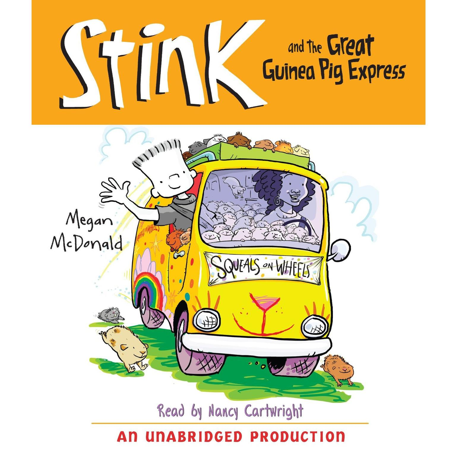 Printable Stink and the Great Guinea Pig Express (Book #4) Audiobook Cover Art