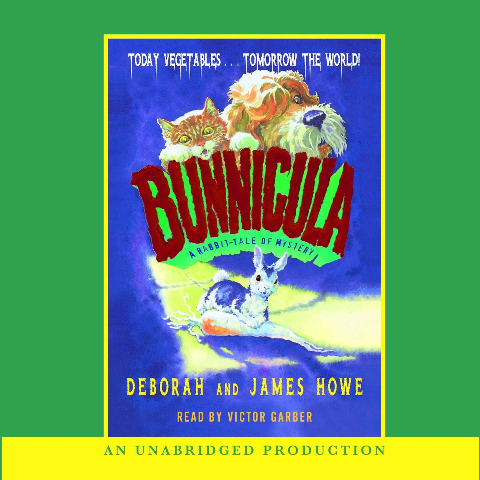 Printable Bunnicula: A Rabbit-Tale of Mystery Audiobook Cover Art