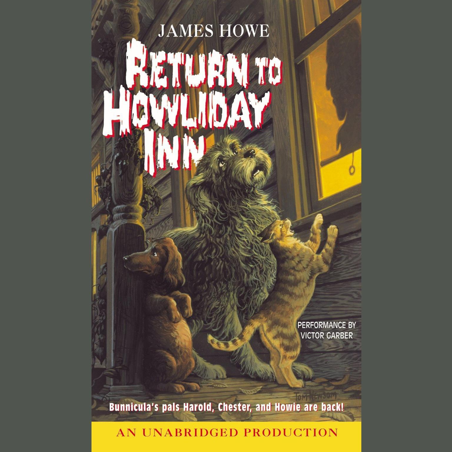 Printable Return to Howliday Inn Audiobook Cover Art