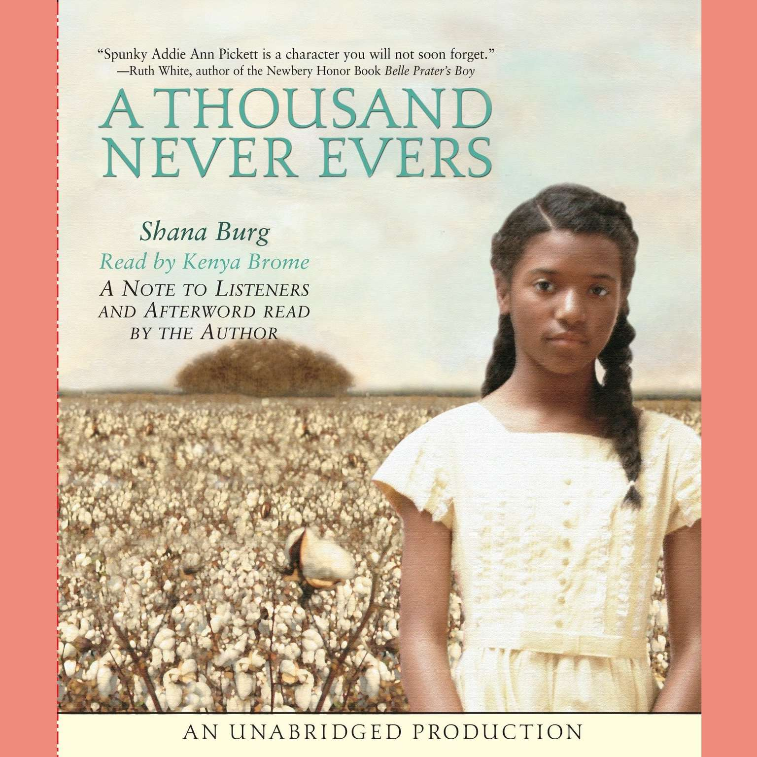Printable A Thousand Never Evers Audiobook Cover Art
