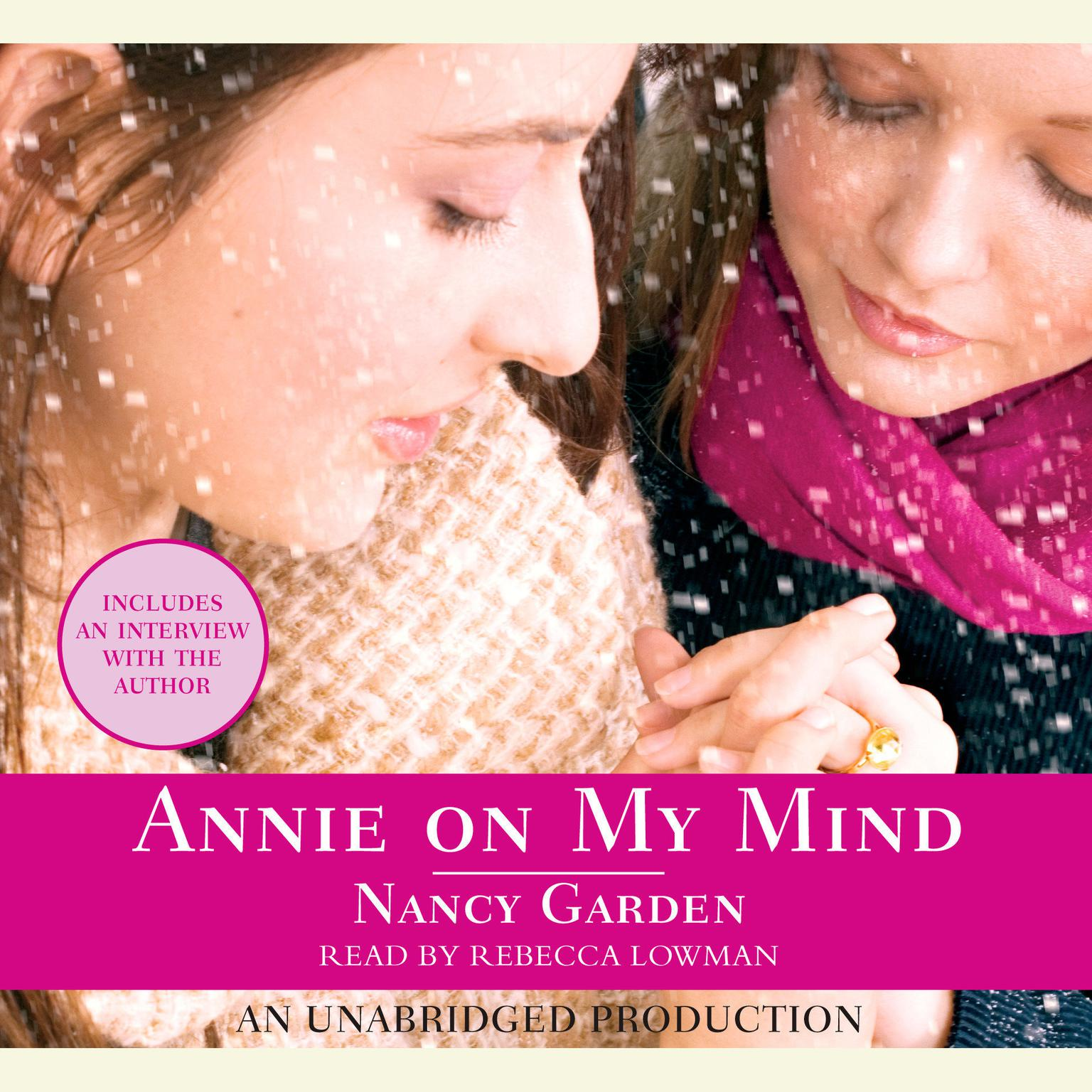 Printable Annie On My Mind Audiobook Cover Art