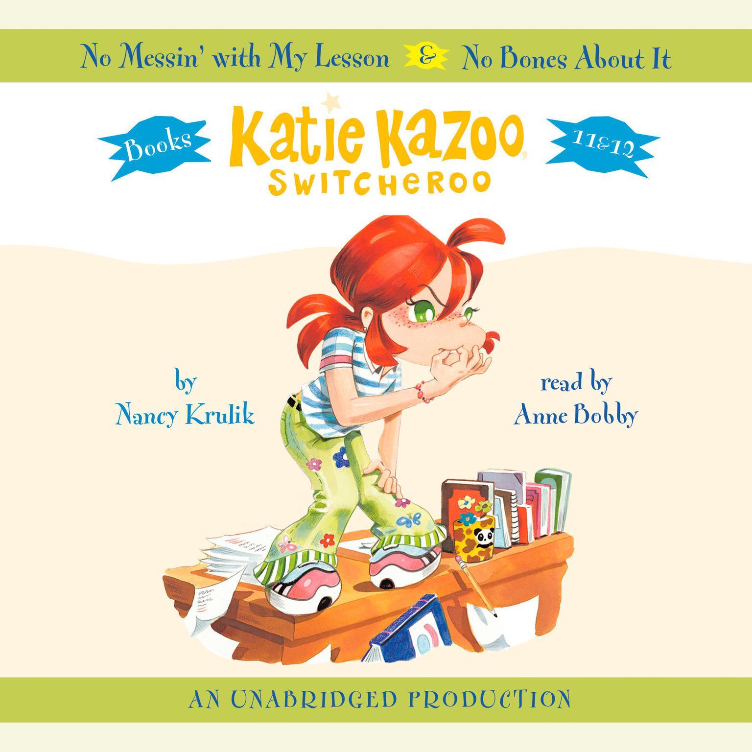 Printable Katie Kazoo, Switcheroo #12: No Bones About It Audiobook Cover Art