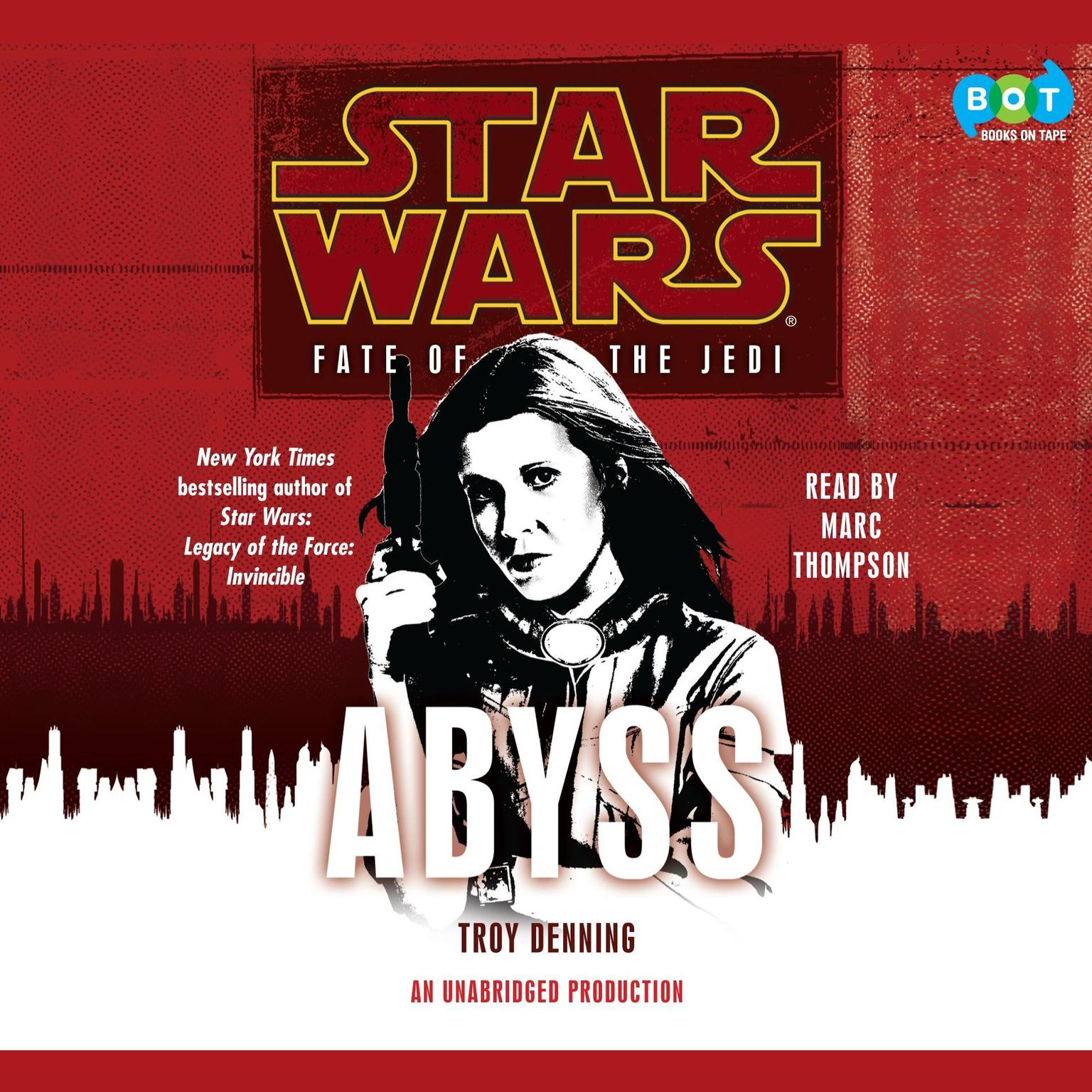 Printable Abyss: Star Wars (Fate of the Jedi) Audiobook Cover Art