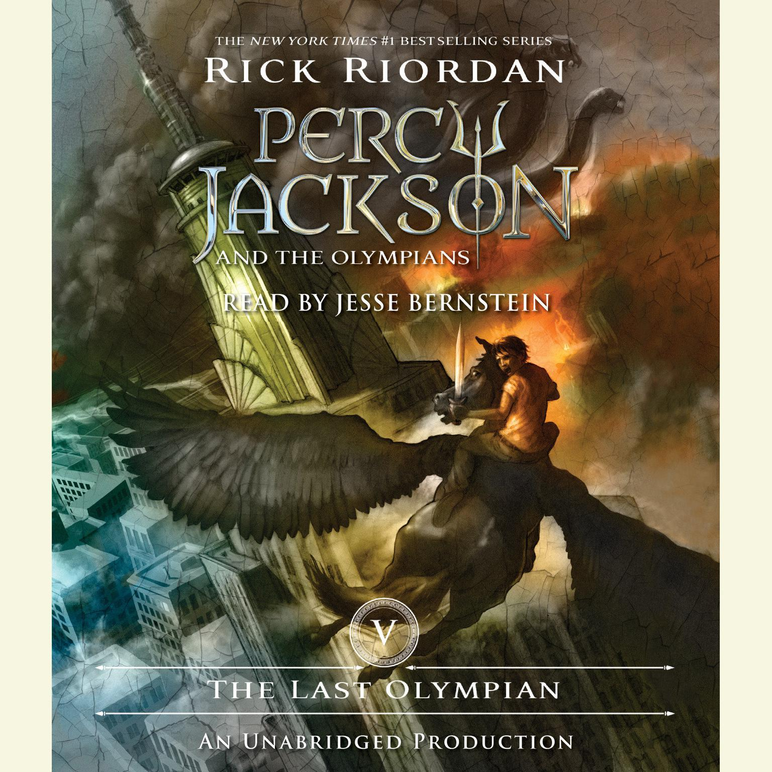 Printable The Last Olympian: Percy Jackson and the Olympians: Book 5 Audiobook Cover Art
