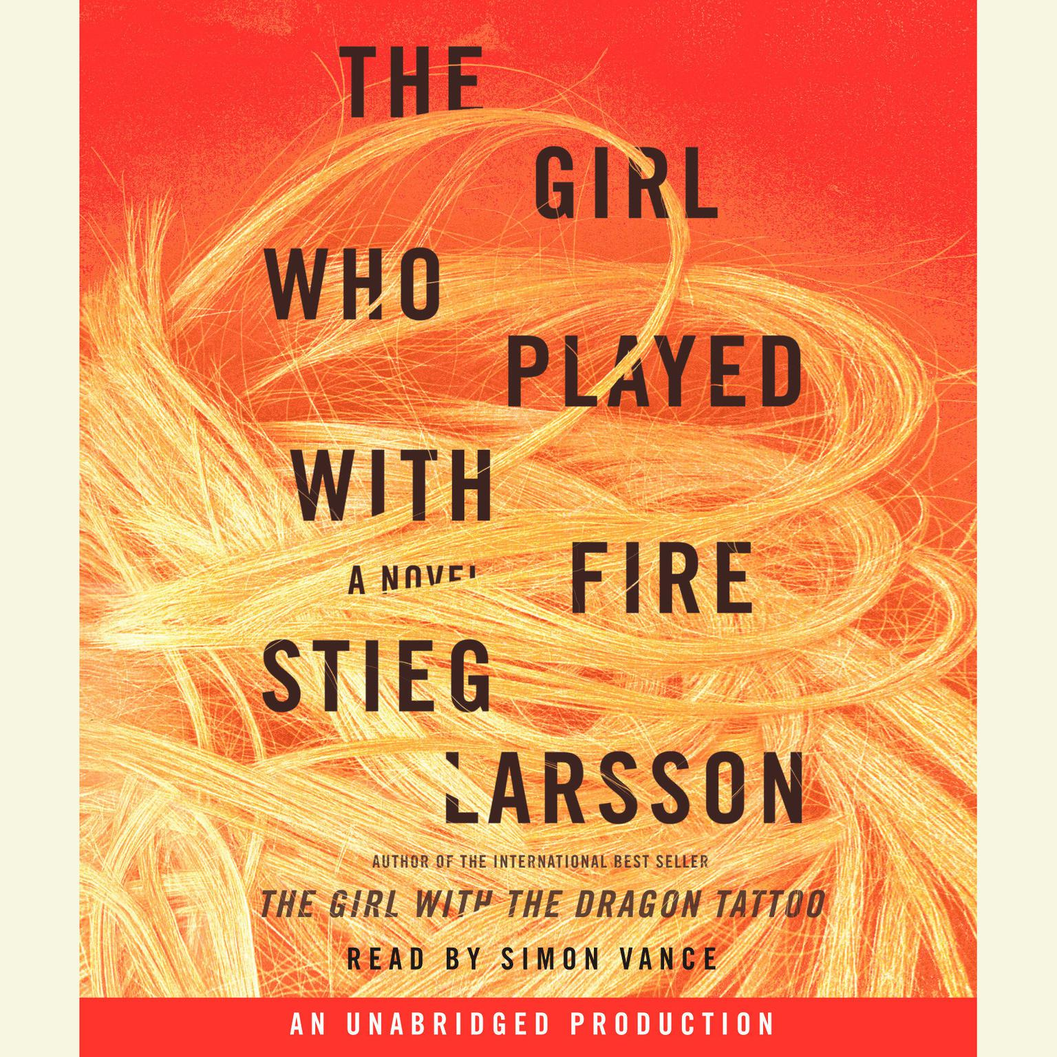 Printable The Girl Who Played with Fire Audiobook Cover Art