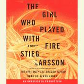 The Girl Who Played with Fire, by Stieg Larsson