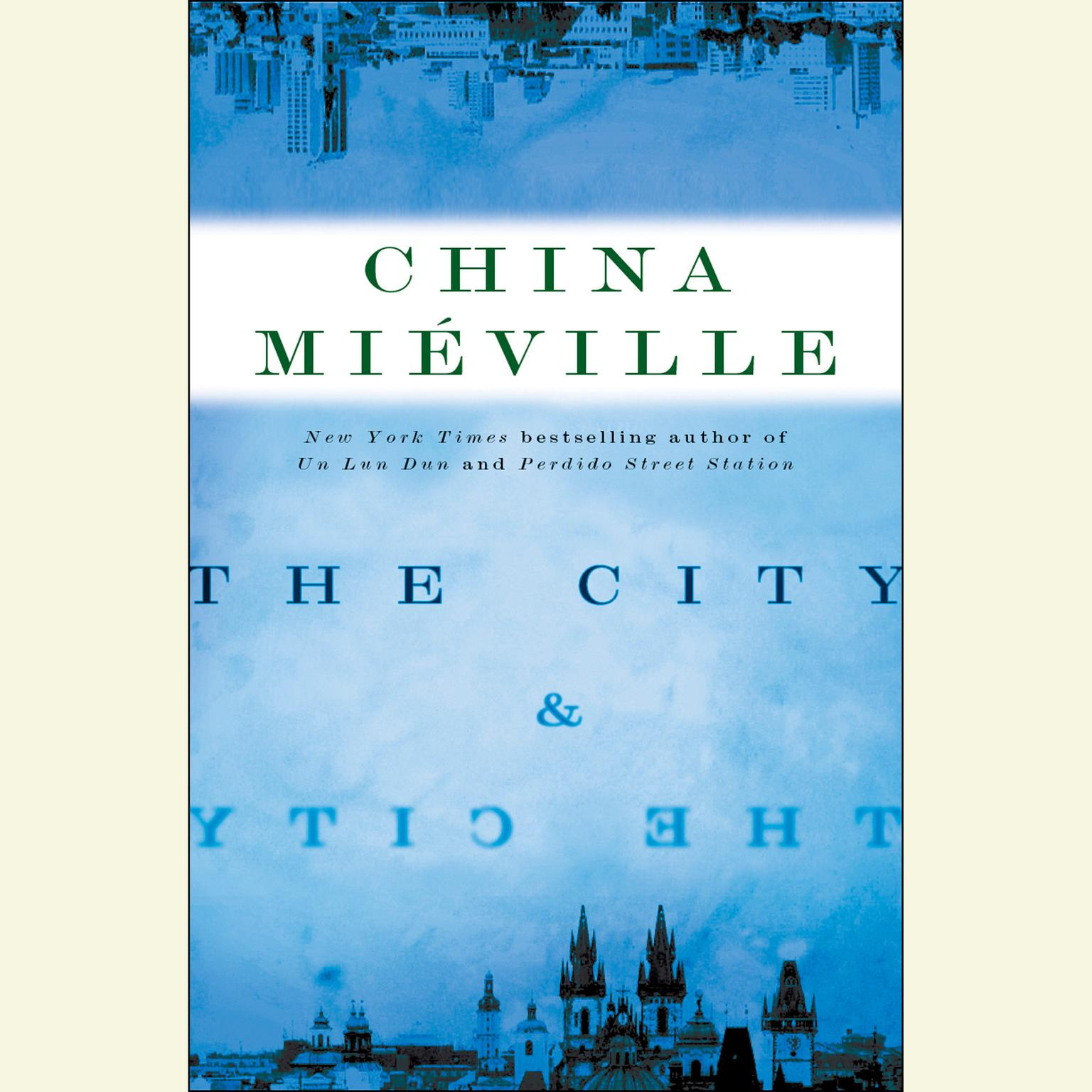 Printable The City & The City Audiobook Cover Art