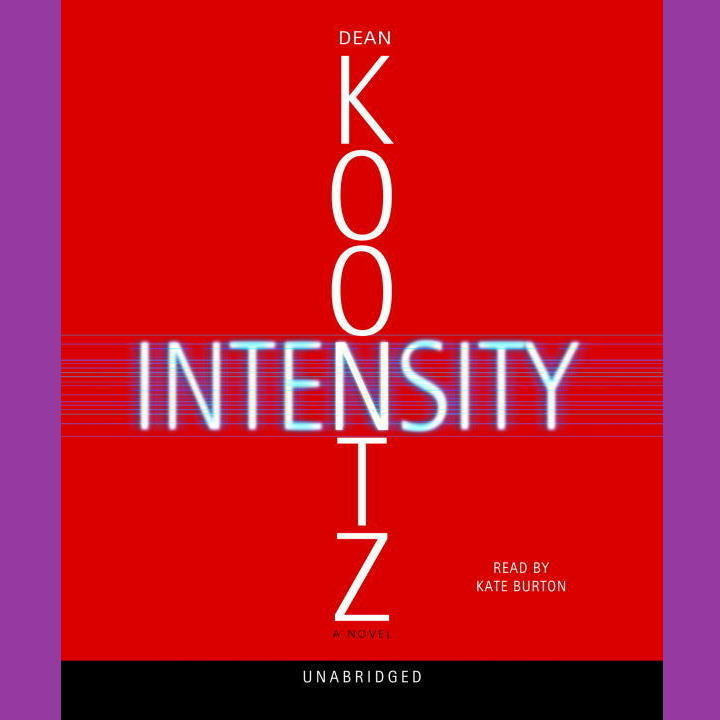 Printable Intensity: A Novel Audiobook Cover Art