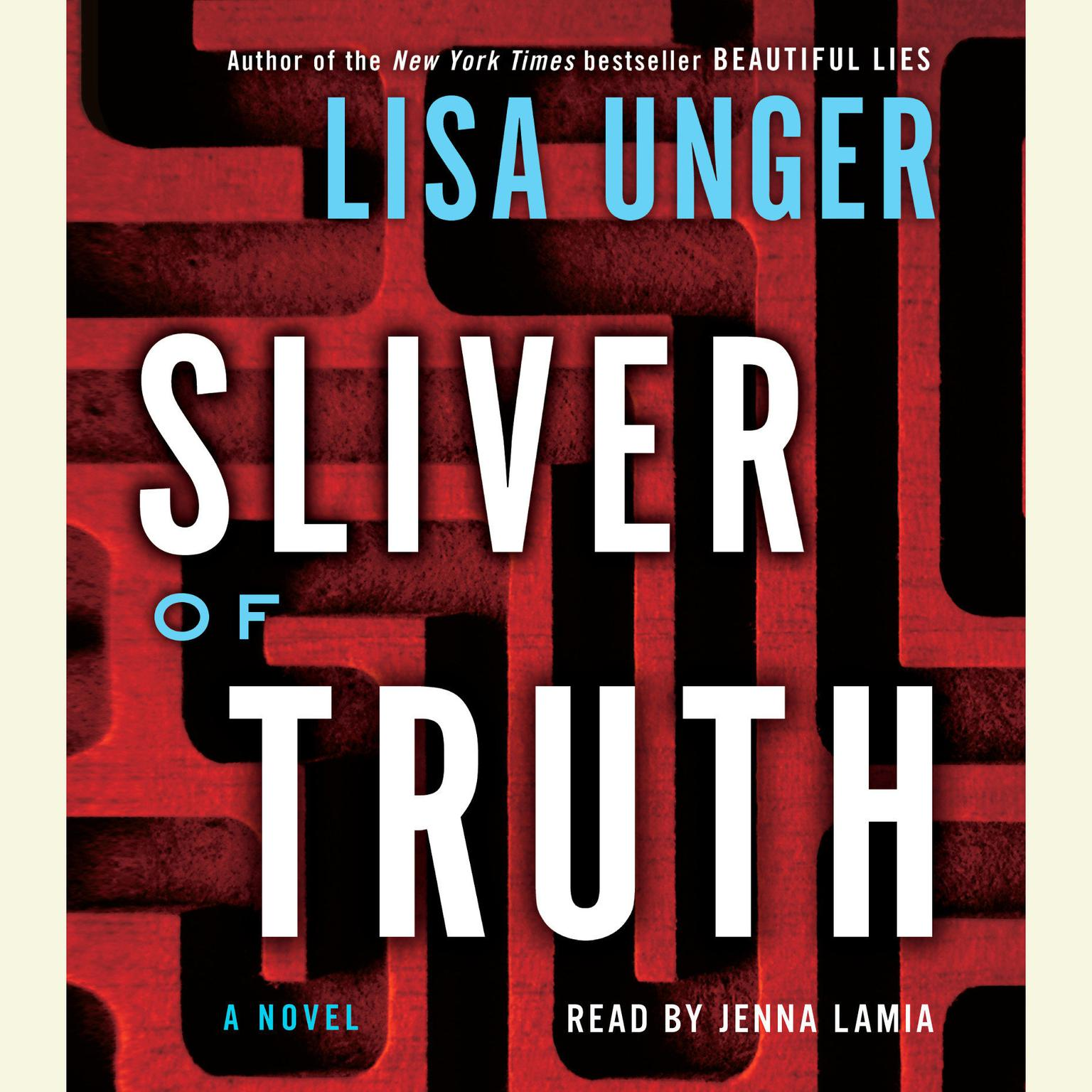 Printable Sliver of Truth: A Novel Audiobook Cover Art