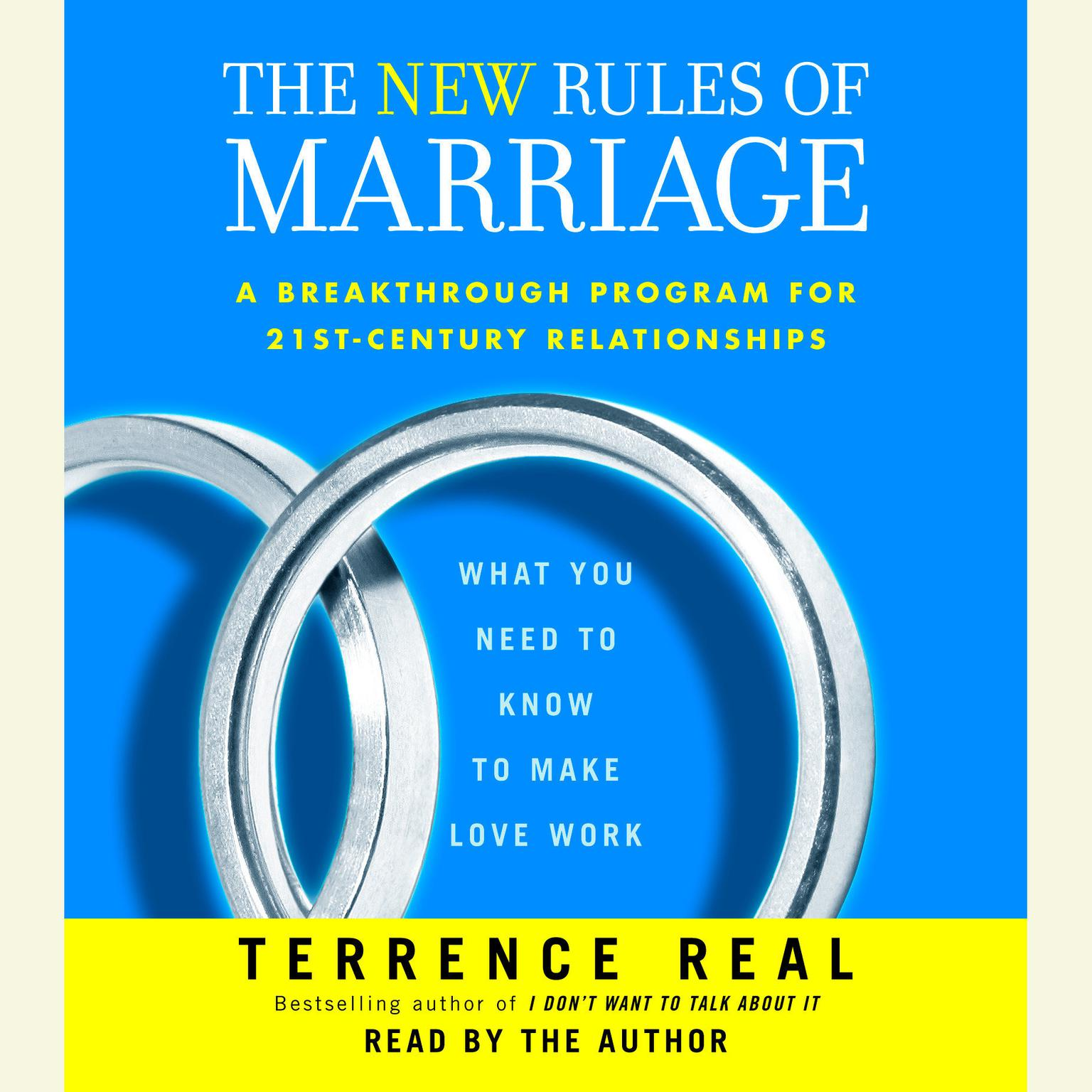 Printable The New Rules of Marriage: What You Need to Know to Make Love Work Audiobook Cover Art