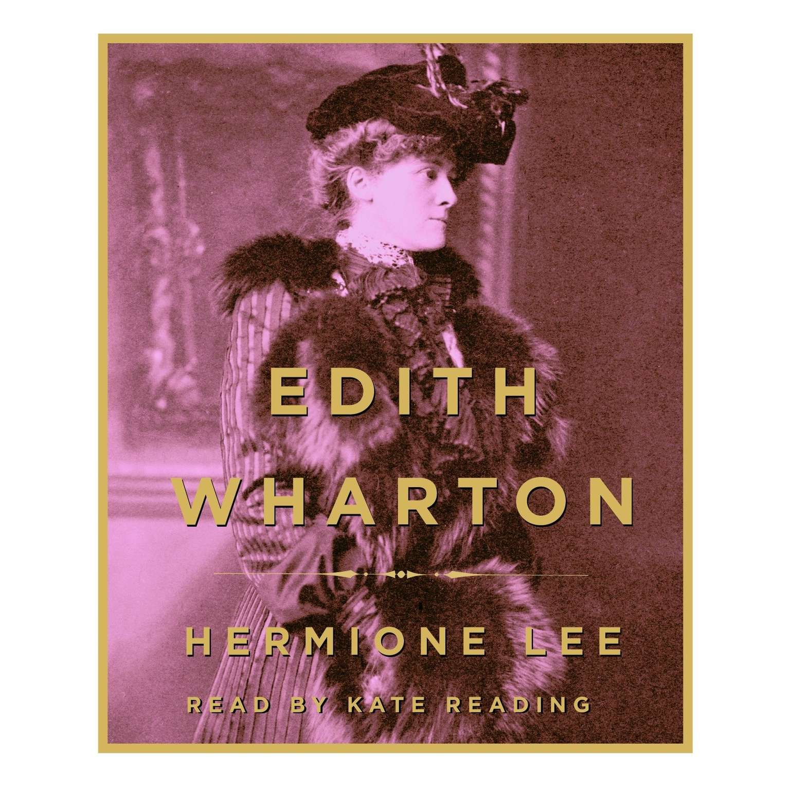 Printable Edith Wharton Audiobook Cover Art
