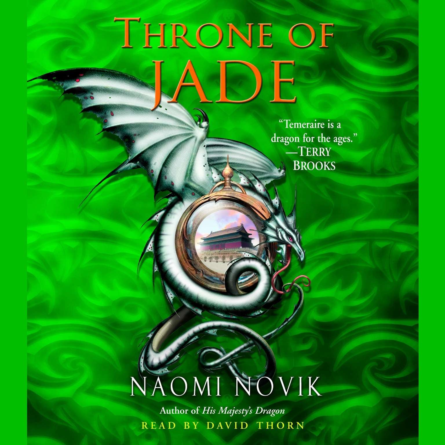Printable Throne of Jade Audiobook Cover Art