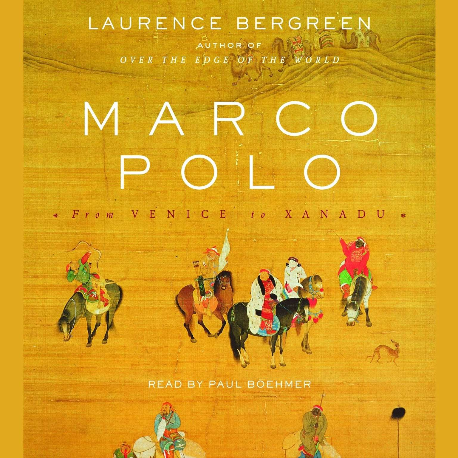 Printable Marco Polo: From Venice to Xanadu Audiobook Cover Art