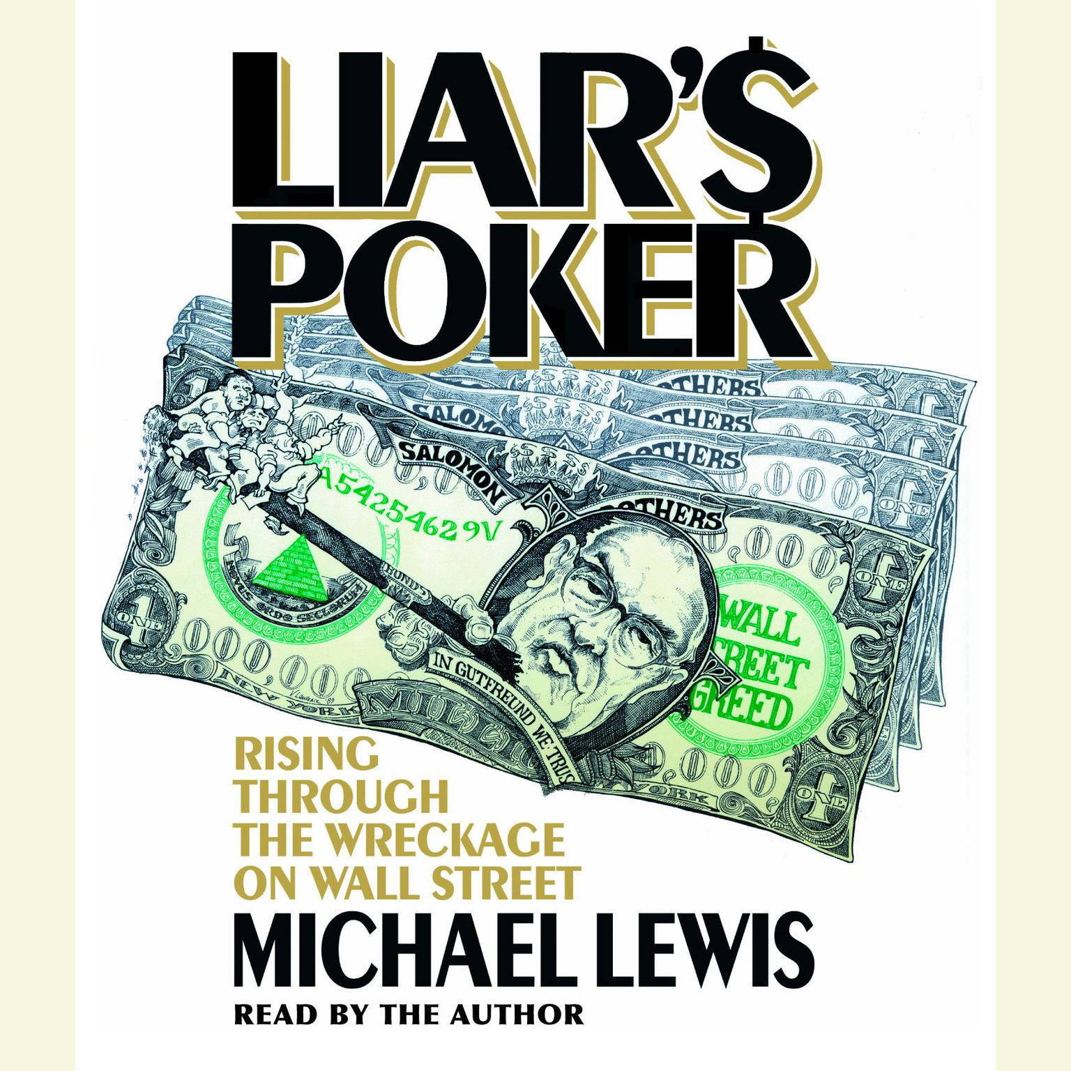 Printable Liar's Poker: Rising Through the Wreckage on Wall Street Audiobook Cover Art