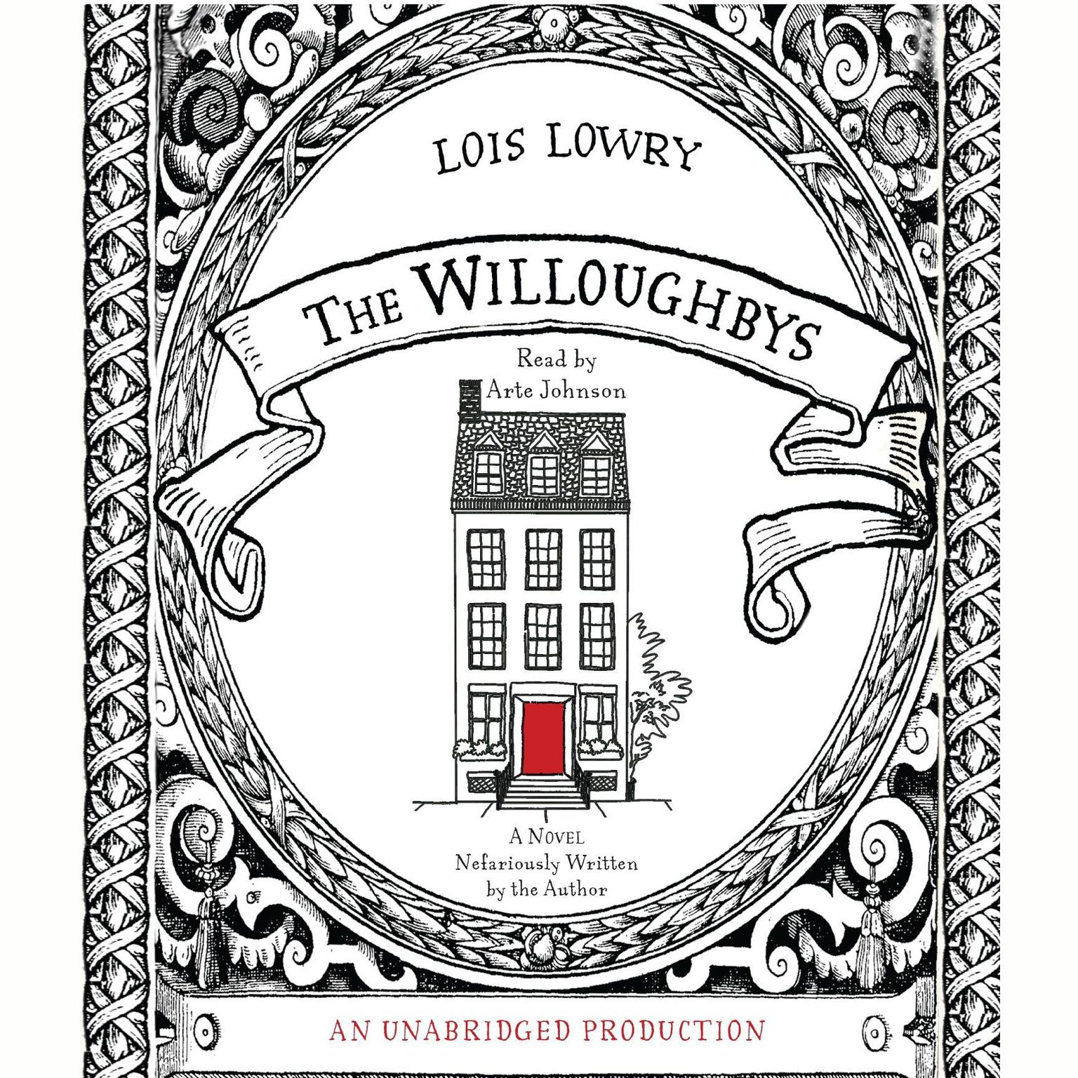 Printable The Willoughbys Audiobook Cover Art