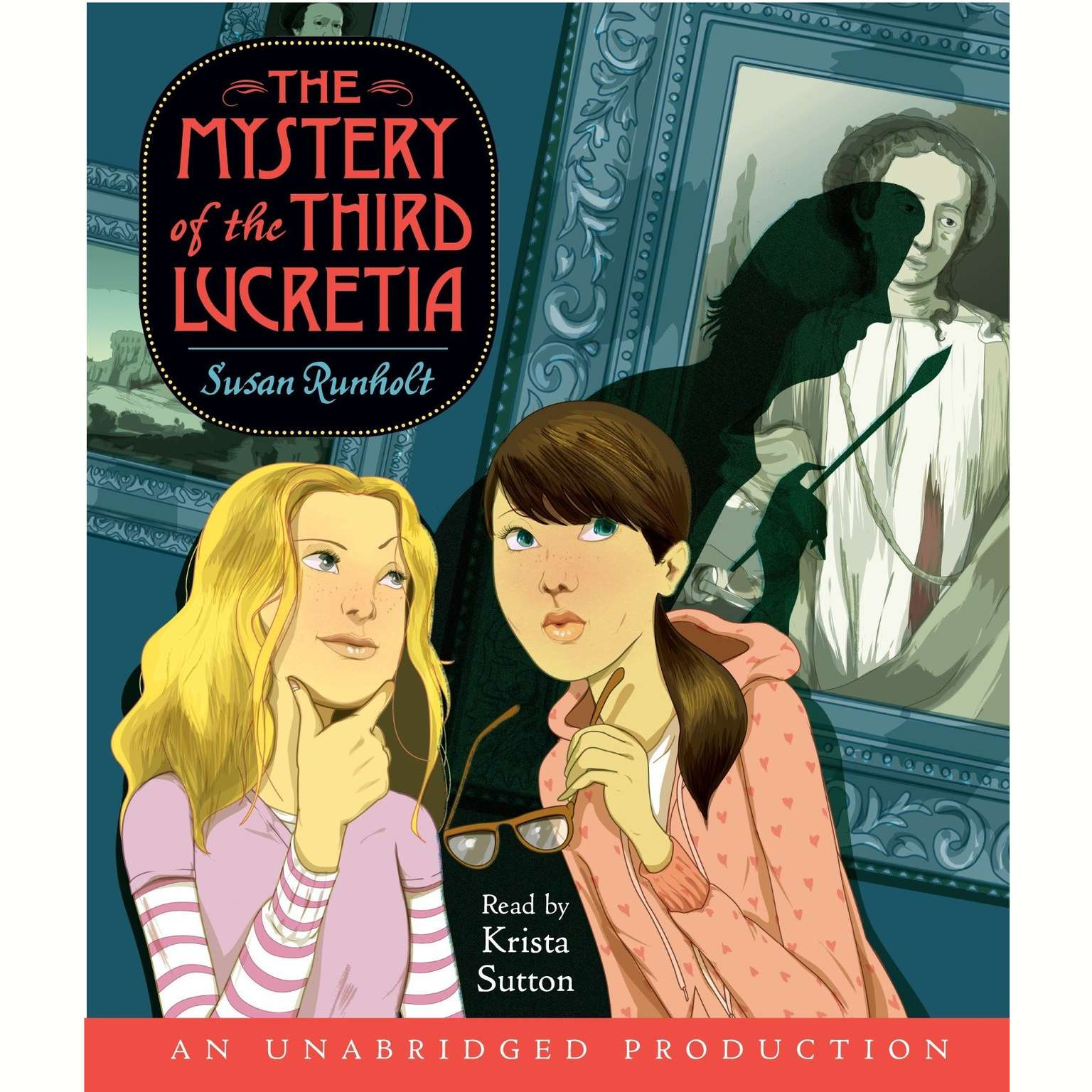 Printable The Mystery of the Third Lucretia Audiobook Cover Art