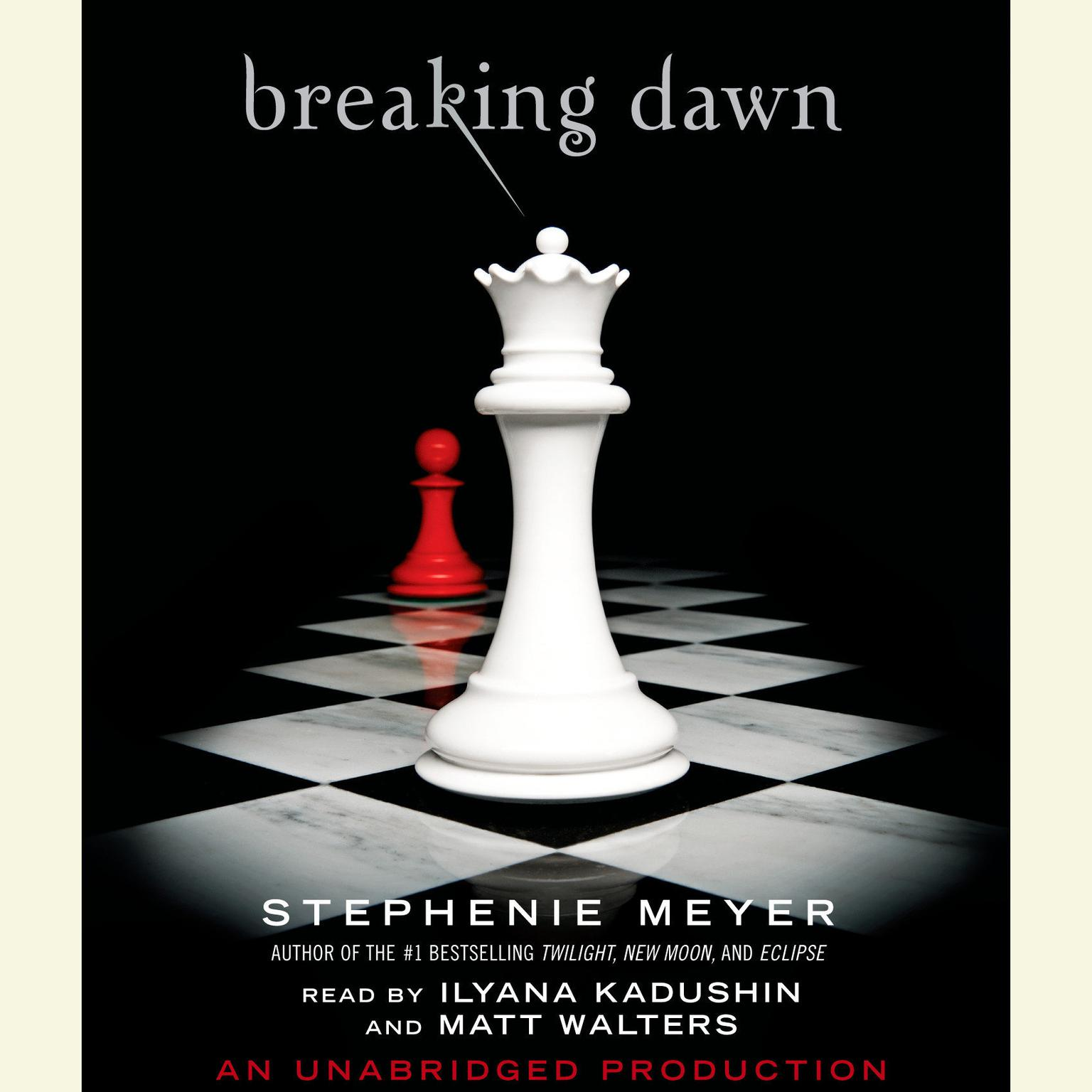 Printable Breaking Dawn Audiobook Cover Art